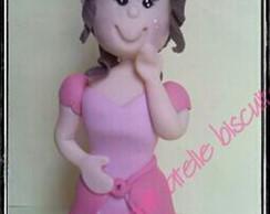 topo de bolo princesa
