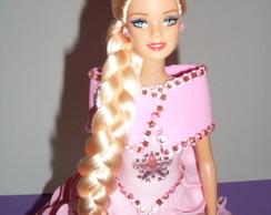 Boneca Com Vestido De Eva - Rosa