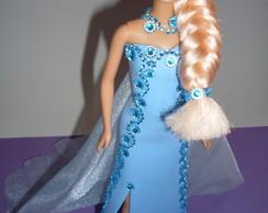 Boneca Com Vestido De Eva - Frozen