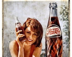 Placa Vintage Retr� - MDF - ES8961