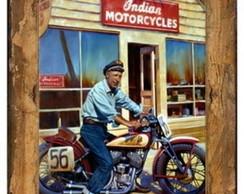 Placa Vintage Retr� - MDF - ES8630