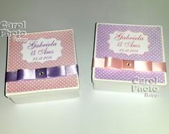 Caixinhas c/ kit manicure