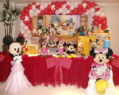 Mesas decoradas da minnie