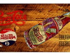Placa Vintage King Retr� Big Mdf ES2027