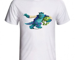 Camiseta Monstro S.A Sulley e Mike 756