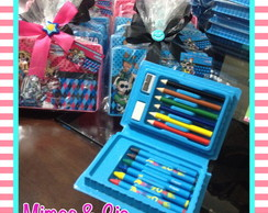 Mini estojo escolar 15 pcs Monster High