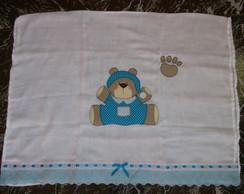 flauda toalha de urso