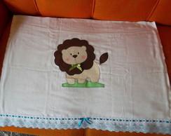 flauda toalha de leaozinho