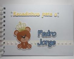 Livro de Assinaturas Urso Pr�ncipe