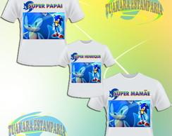 Kit Camiseta - Sonic