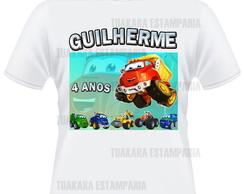 Camiseta Chuck e Amigos