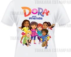 Camiseta Dora e Amigos