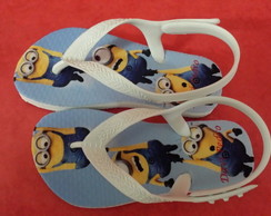 Chinelo Infantil Baby Minions