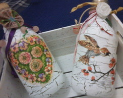Garrafinhas recicladas