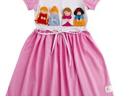 Pijama com Dedoches Princesas