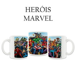 Caneca Her�is Marvel