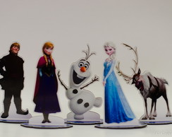 Kit Frozen 1 - Mini Totem em MDF 14 cm