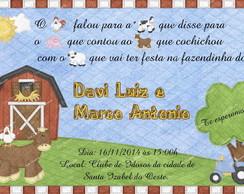 Convite Fazendinha