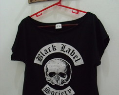 Blusa Gola Canoa Black Label Society