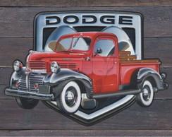 Placas Vintage King em Mdf Hard 8350-PG