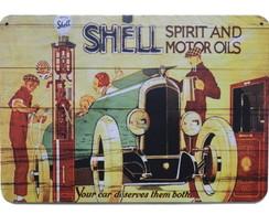 Placas Vintage King em Mdf Hard 10294-PG