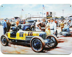 Placas Vintage King em Mdf Hard 10298-PG
