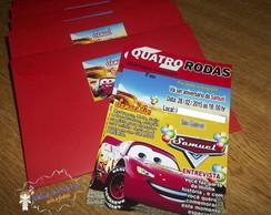 Convite capa de revista - 4 Rodas