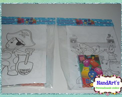 Kit Colorir 3 - Backyardigans