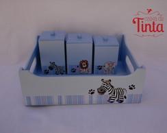Kit Higiene Saf�ri azul 2