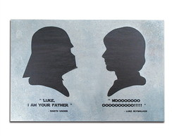 Mural Met�lico Not the Father