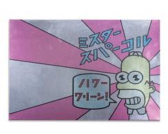 Mural Met�lico Homer in Japan