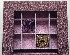 Caixa para biju com vidro