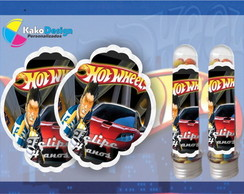 R�tulo tubete Hot Wheels