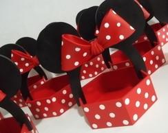 Cesta sextavada da Minnie ou Mickey