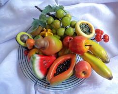 Frutas decorativas - artesanais