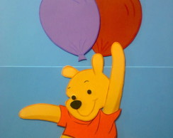 Painel de Parede - Ursinho Pooh
