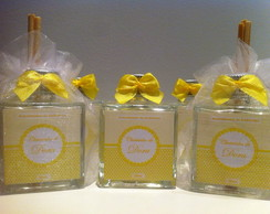 Mini Aromatizador Cubo 50ml Organza