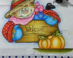 Guardanapo Espantalho Welcome 2