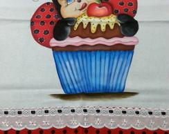 Guardanapo Joaninha Dentro Cupcake 2