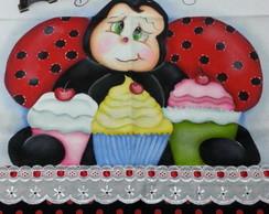 Guardanapo Joaninha Cupcake 2