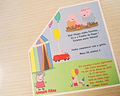 Convite Ibiza Anivers�rio Peppa Pig