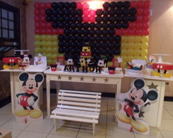 Decora��o de festa do mickey