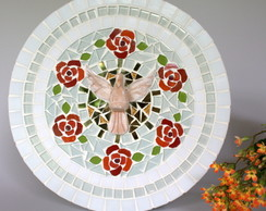 Mandala Divino Esp�rito Santo Rosas 30