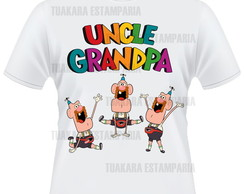 Camiseta Titio Av� - Uncle Grandpa