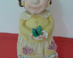 Pote boneca camponesa