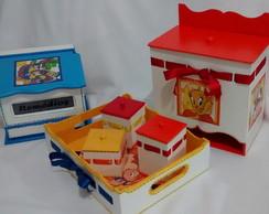 Kit de Higiene Para Beb� Looney Tunes