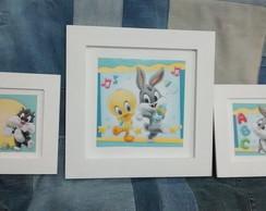 Kit Quadrinhos Looney Tunes Baby