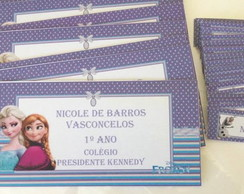 Kit Escolar 04: Frozen