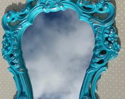 Espelho Veneziano Turquesa Proven�al