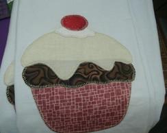 pano de pratos em patchwork